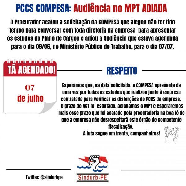 informativo PCCS